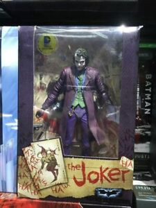 NECA 7'' inch Heath Ledger DC Comics Batman Dark Knight Joker Action Figure Toy