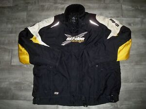 X-Team Ski-Doo BRP Bombardier Snowmobile Insulated Racing Men's Jacket Size 3XLT