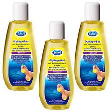 (48,87 €/ L) 3 x 150ml Scholl Oil Care Bath M. Anti Callus Effect Smoother