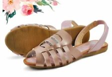 Khoee Fashion Sandals for Women A5-B1 (Pink)  SIZE 36