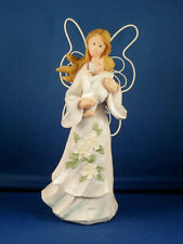 """Magnolia Angel with Baby - 7 1/2"""" high"""