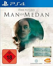 Ps4-The Dark Pictures Anthology: Man of medan - (nuevo con embalaje original)