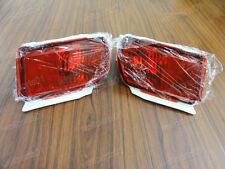 1Pair Rear Red Fog Lamp Lights For Toyota Land Cruiser Prado FJ150 2010-2015