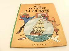 BD Tintin Le secret de la Licorne Hergé édition C4 de 1980
