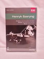 Classic Archive #20, EMI, Henryk Szeryng, Brahms, Bartok, Ravel, violin, DVD