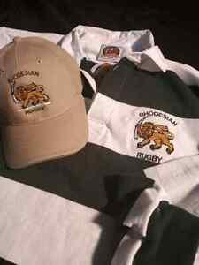 Rhodesian Rugby jerseys with bonus hat