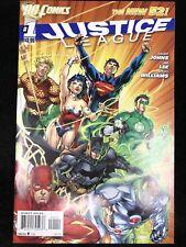 Justice League #1 New 52 (Dc 2011) Jim Lee ~ 9.0 Vf/Nm
