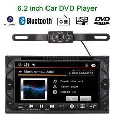 "Cam+ 6.2"" 2Din Touch Screen Car DVD/USB/SD Player Bluetooth Radio MP3 US J5Z4"