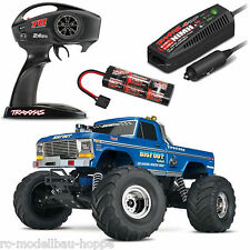 Traxxas Bigfoot No. 1 rtr cargador 12v 1-10 Monster Truck 12t xl-5 trx36034-1