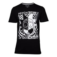 Official RICK AND MORTY Psychedelic T Shirt Quality Gift