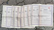 LOT 10 OBLIGATION RUSSE DE 187,5 ROUBLES @ BOND RAILROAD ATCHINSK - MINOUSSINSK