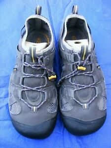 Keen Leather Mesh Athletic Cord Sneaker Trainer Hiking Shoe 11 - 12.5