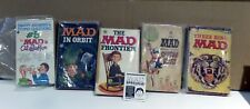 Lot of 5 MAD Magazine Books    Captain Klutz, In Orbit, Three Ring MAD, Frontier