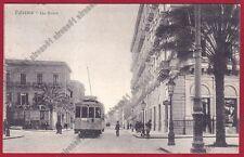 PALERMO CITTÀ 123 TRAM Cartolina viaggiata 1947