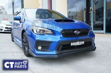 Charge Speed Style Front Lip Splitter for 14-19 SUBARU WRX STI ( UNPATINED )