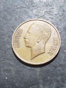 1938 (1357) Iraq 1 Fils Coin #oct101