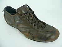 Prada Mens Leather Lace Up Shoes Brown UK 8.5 EU 42.5 LN095 DD 06