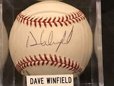Dave Winfield Autographed Signed Autograph Rawlings MLB Baseball