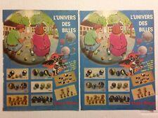 LOT PUBLICITES ANNEES 80 SPECIAL VLECO BILLES / ZORRO