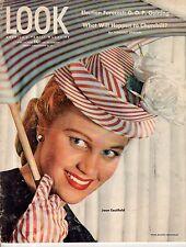 1946 LOOK April 16 - Churchill;Colony Restaurant NYC;Corregidor; Radio Thrillers
