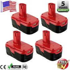 4X 4.0Ah for Craftsman C3 19.2V Diehard Xcp Lithium-Ion Battery Pp2020 Pp2011