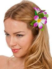 New purple hibiscus à cheveux fleur robe fantaisie hawaïen Luau Fête Nuptiale