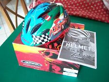 ALPINA GAMMA 2.0 FLASH child's bicycle helmet with rear Light (Size: 46cm-51cm)