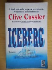 IcebergCussler CliveTEADUEavventura510azione dirk pitt suspense california