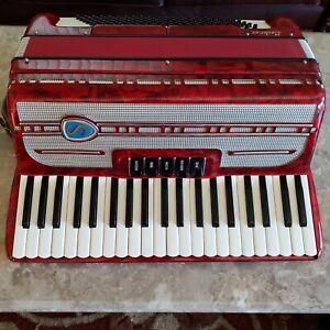 "Santini Master XV 19"" keyboard 2/4 reed Italian"