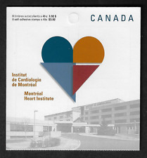 Canada Stamps -Booklet Pane of 8 -Montréal Heart Institute #2056a (BK296) -MNH
