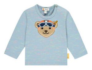 STEIFF® Baby Jungen Langarmshirt Shirt großer Bär Vespa 62- 86 F/S 2021 NEU!