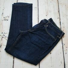 Levis 541 Mens Size 34x32 Athletic Fit Jeans Stretch Straight Leg Dark Wash Blue