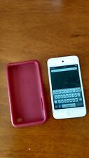 Apple 8 Gb iPod Touch 4th Generation - White. With A/V Cable & Soft Cases-Bundle