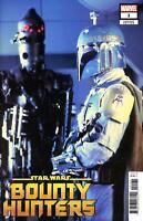 Star Wars Bounty Huters #1 Boba Fett Photo Movie Variant Cover Marvel
