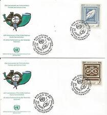 Uno Wien  Nr.121-22 auf  2 FDC