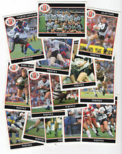 Merlin Rugby League Collection 1991 Team Set of Widnes Vikings Cards freepost
