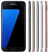 (FACTORY UNLOCKED) Samsung Galaxy S7 EDGE SM-G935FD Black Blue Silver Gold PHONE