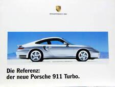 PORSCHE  DIE REFERENZ DER NEUE PORSCHE 911 TURBO CATALOGUE EN ALLEMAND