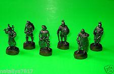 Personaggi in metallo completamente frase # guerrieri su piedistallo # = Top & RAR!!!