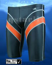 FINA APPROVED MEN RACING SWIM SPLICED JAMMER XXL 34