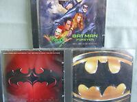 Batman/ Batman Forever/ Batman & Robin- OST by Prince/E.Goldenthal- 3CDs- lesen
