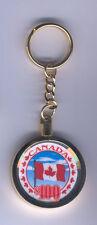 Canadian Flag Canada Casino Chip Key Chain Ring Keychain Maple Leaf