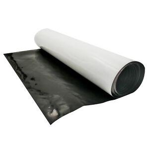 HFS(R) Black and White Panda Film 10 x 50' 5.5 Mil Poly Film