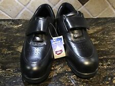 ce702fa915 New listing NWT Drew Therapeutic Diabetic Black Leather Walking Shoes Men's  Size 13