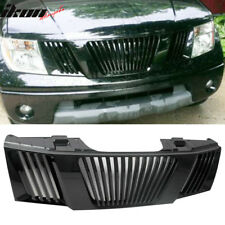 Fit For 05-08 Nissan Pathfinder Frontier ABS Hood Grille Black