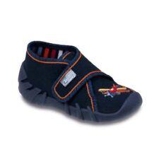 Chaussures bleus pour bébé en 100% coton
