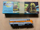 Ho Scale Western Pacific F9 Locomotive (Tested Runs Great) Not Original Box