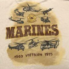 USMC Vietnam Helicopter Assn. Veterans Reunion Pop A Smoke T-Shirt M/L (TS2)
