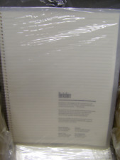 Berkshire Cleanroom Notebook, 8.5 In. x 11 In., Bsnb.0811Cr: Carton of Nine (9)