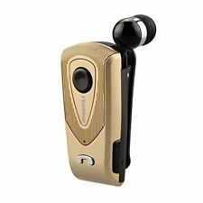 Fineblue F930 Wireless Bluetooth Retractable Headset Call Clarity Music-Gold